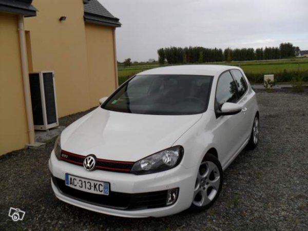 golf 5 gti blanche 270ch blog de juliendu29 represente. Black Bedroom Furniture Sets. Home Design Ideas