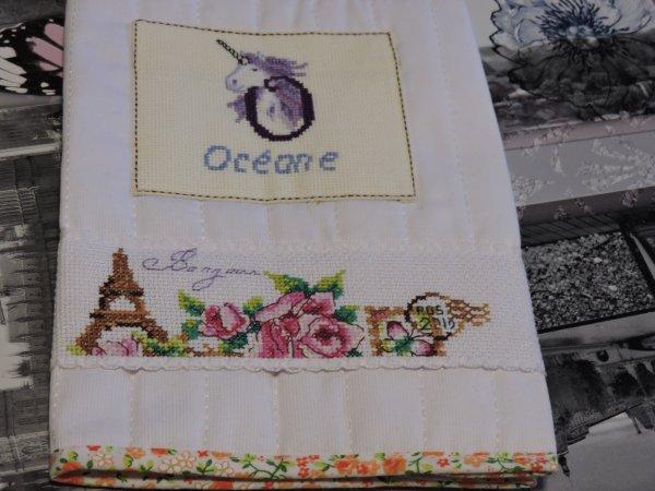protège carnet de naissance pour ma nièce océane