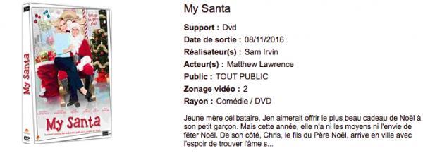 Sortie DVD 2016