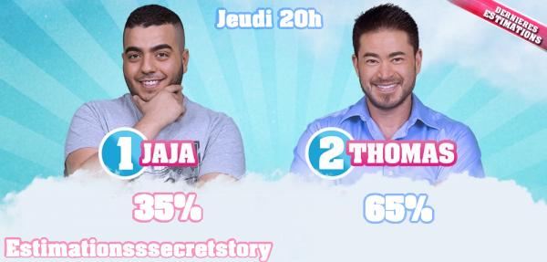 ESTIMATIONS -  Nomination N°5 : Jaja / Thomas