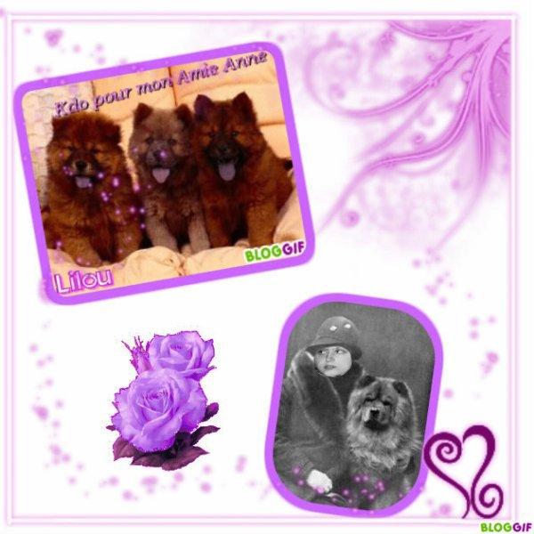 Un cadeau de mon amie lilouka13 merci pour ces chow chow - Je choisis mon cadeau ...