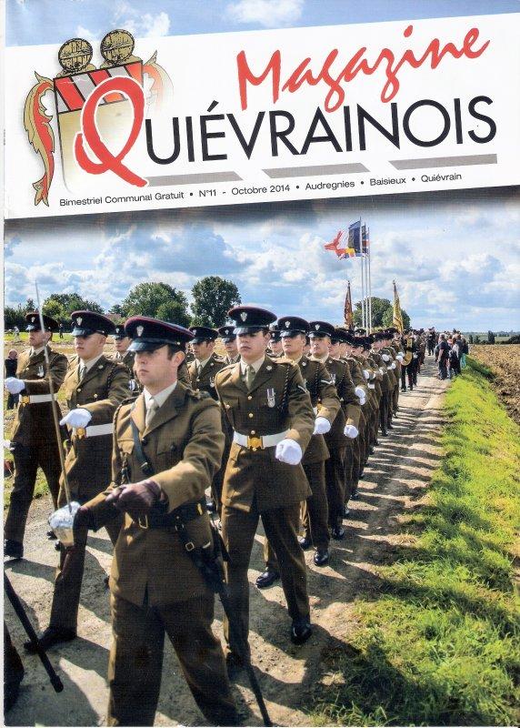 """Extraits du magazine """" Qui�vrainois""""."""
