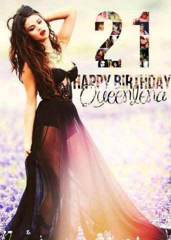 Bonne anniversaire Selena Gomez