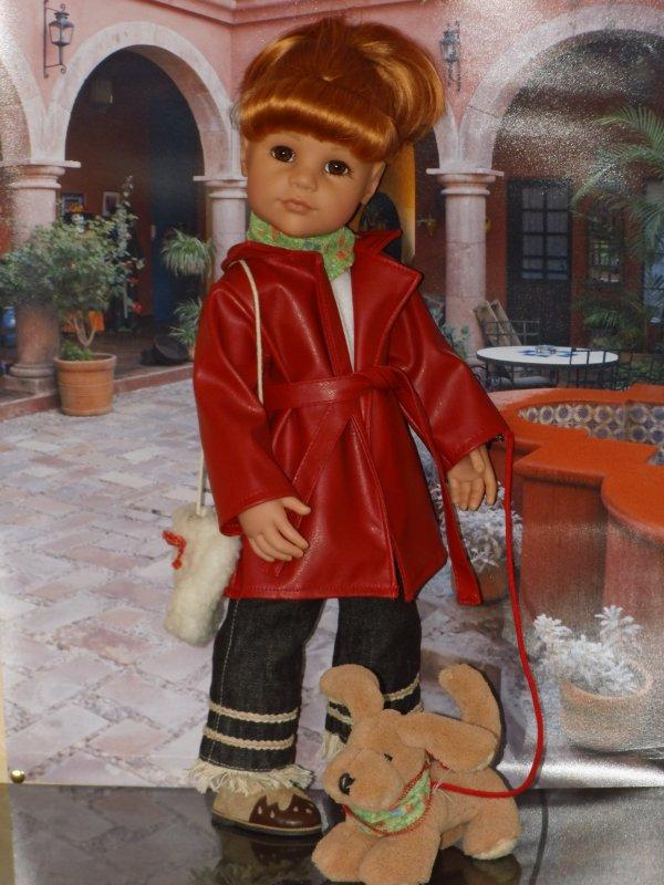 GOTZ : SARAH et son chien 2005