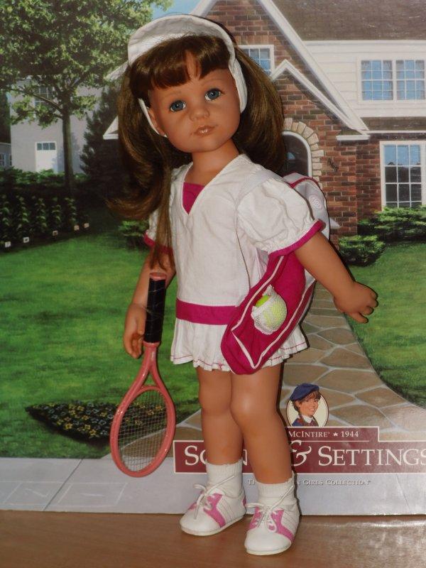GOTZ : SARAH au tennis 2009