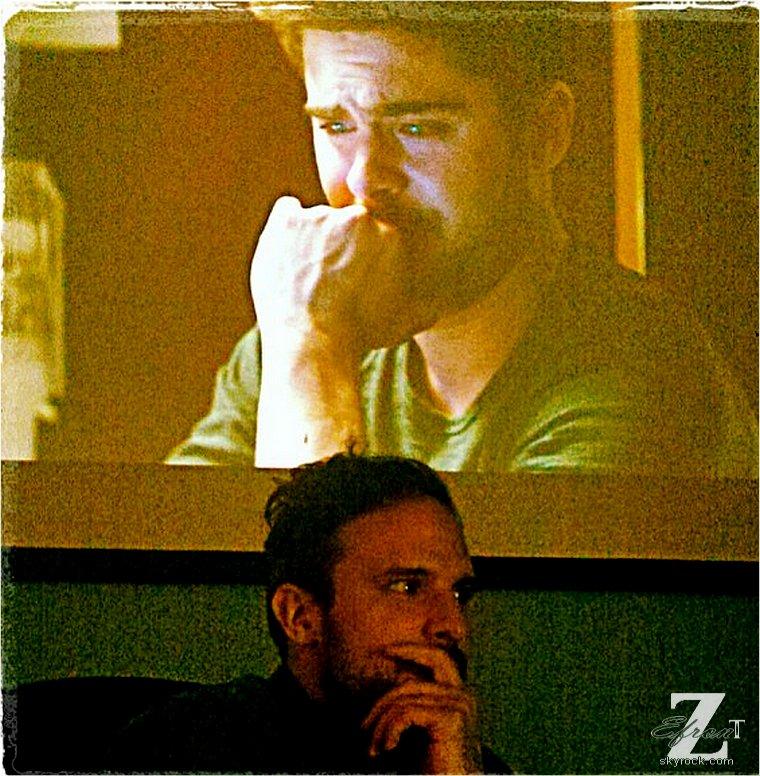 � ZEfron™  30.05.2013  -  Photo de Zac Efron sur le Tournage de AWOD post� par le r�alisateur lors du montage du film.  @V: H�te de voir ce film, Zac est trop beau dedans.