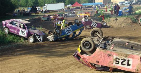 FUN CARS � ROMAGNIEU 38480 SAMEDI 23 JUIN 2012 EN NOCTURNE
