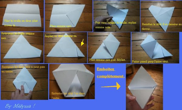 bo te murale en origami blog de tuto one piece. Black Bedroom Furniture Sets. Home Design Ideas