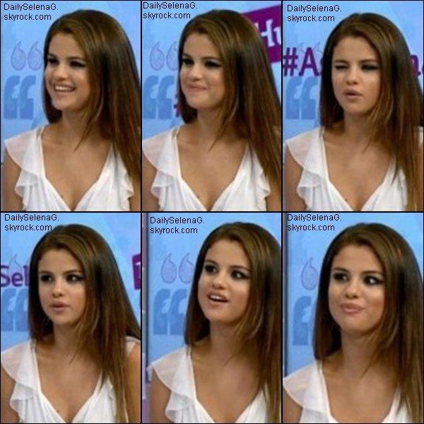 15/07/13 : Selena en interview sp�ciale avec Ryan.