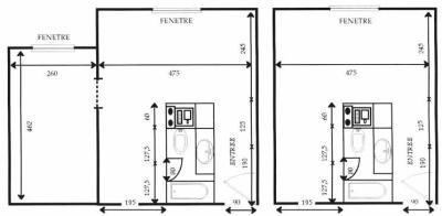 apheen plan d 39 un logement tudiant apheen logements tudiants nancy 54. Black Bedroom Furniture Sets. Home Design Ideas