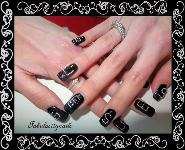 deco ongles guess