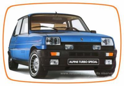 fiche technique renault 5 alpine turbo 1982 1984 voiture fiche technique. Black Bedroom Furniture Sets. Home Design Ideas