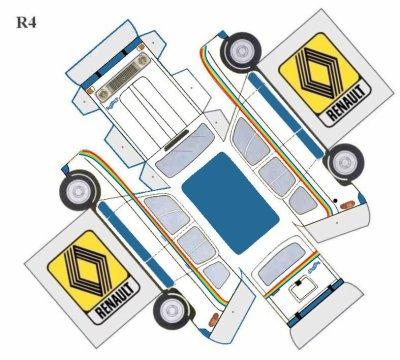 renault 4l maquettes blog de maquettes v m. Black Bedroom Furniture Sets. Home Design Ideas