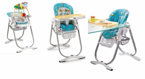 La chaise haute polly magic 3 en 1 chicco you me b by for Chaise haute 3 en 1