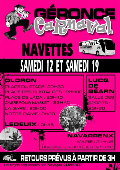 AFFICHE NAVETTES 2011
