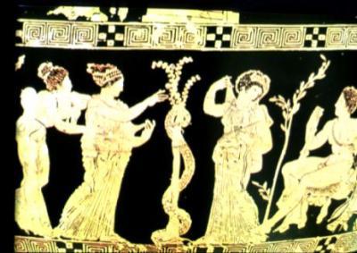 Les dragons dans la mythologie grecque ladon et le jardin for Au jardin des hesperides