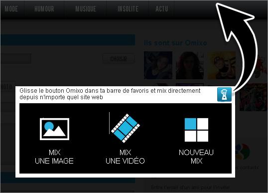 AIDE 4: BALADE-TOI SUR LE WEB AVEC LE BOUTON MIX !