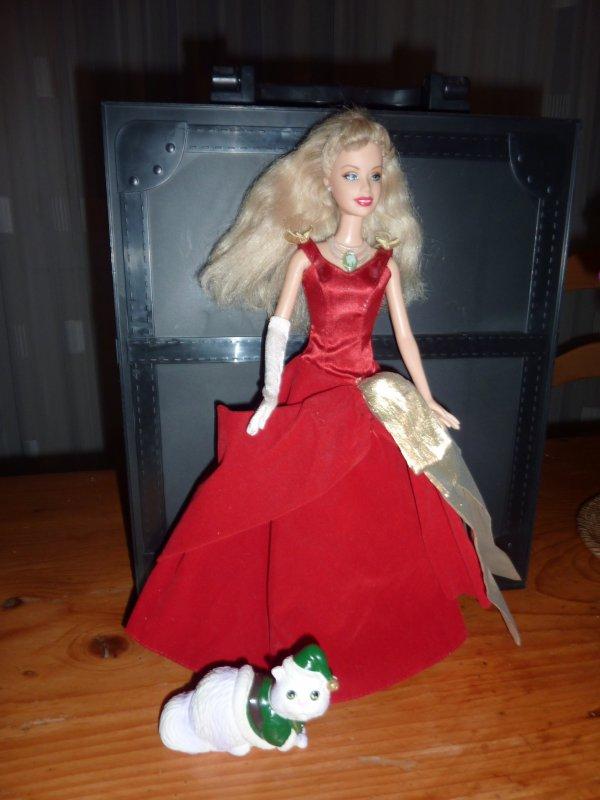 Mattel barbie et la magie de no l barbie cathie et autres jouets de mon - Barbie et la magie de noel ...