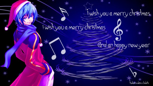 i wish you a merry christmas.....