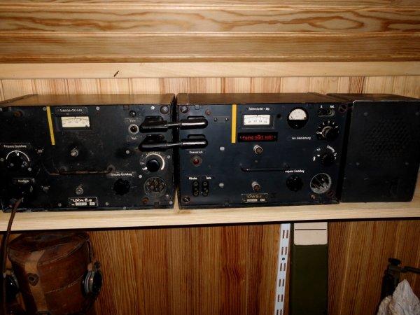 Station radio de panzer III ( FU5)