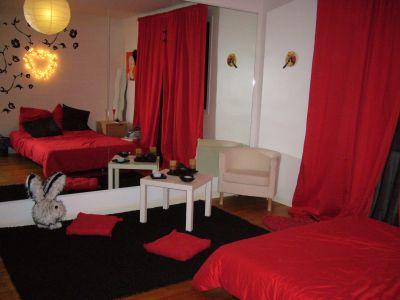 ma chambre en rouge et noir - Chambre Rouge Et Noir