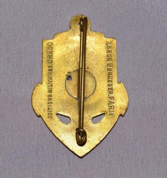 Insigne du Corps Exp�ditionnaire Fran�ais en Extr�me Orient
