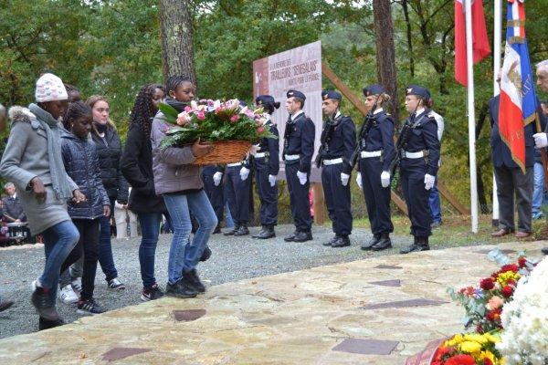 Cérémonie du 11 novembre 2016  nécropole du Natus (2eme partie)