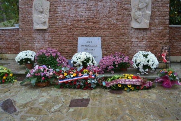 Cérémonie du 11 novembre 2016 Nécropole du Natus (3eme partie et fin)