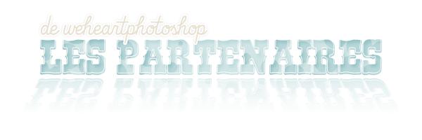 Les partenaires de weheartphotoshop.