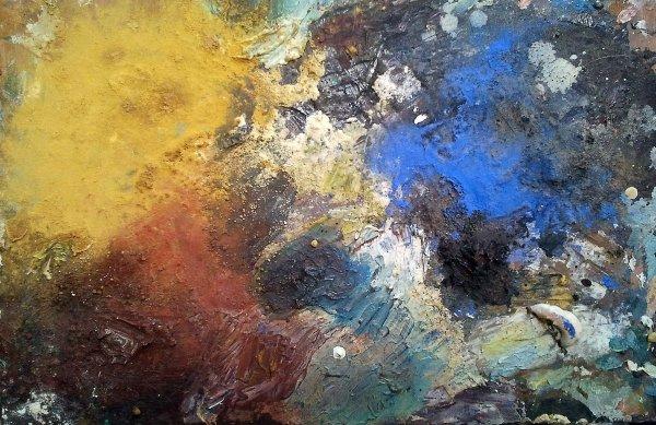 Mes palettes de peinture un tsunami de couleurs jamal eddine chraibi l 39 artiste peintre for Peindre palette