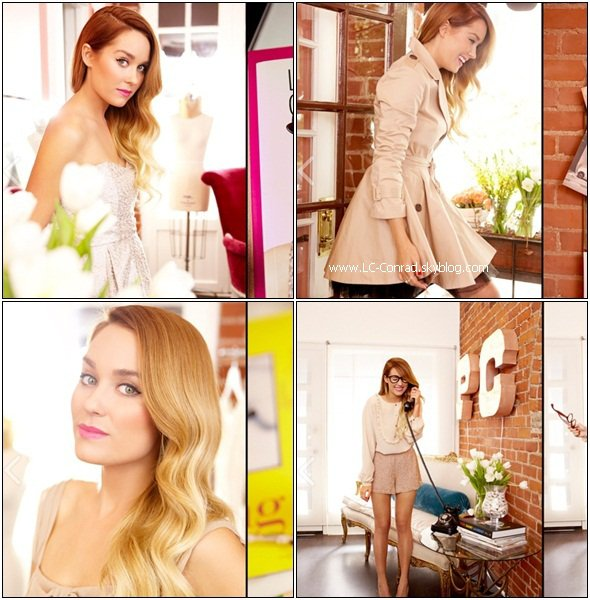 Lauren au diner Hollywood Reporter + Lauren et Paper Crown photoshoot