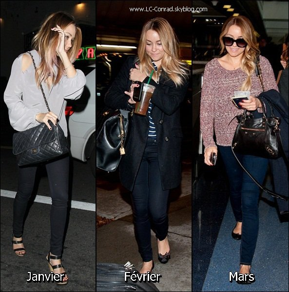 Les Looks de Lauren pendant cette année 2012
