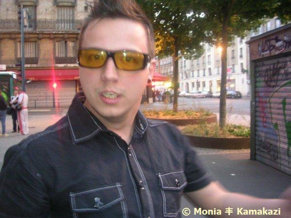 Nick @ Paris!