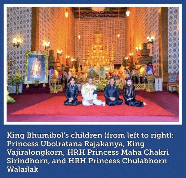 FAMILLE ROYALE   THAILAND