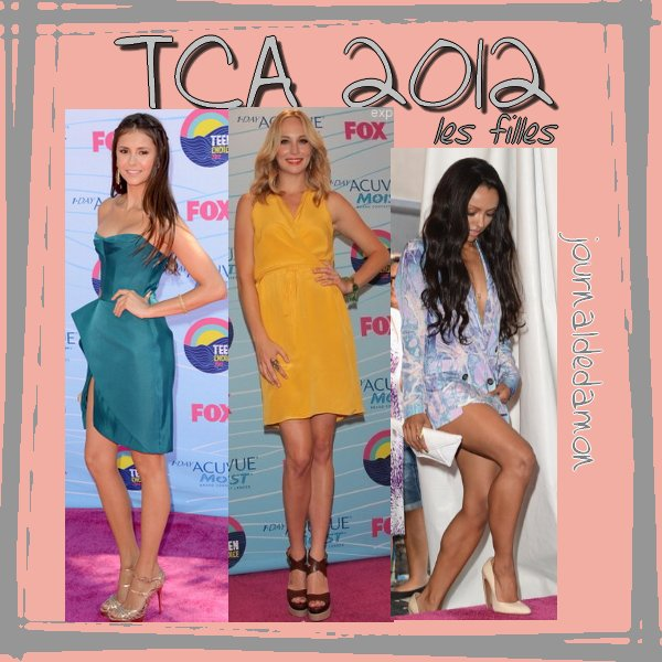 Teen Choice Awards 2012 !La s�rie a re�u 6 prix ! (c'est tvd, quand m�me ;))
