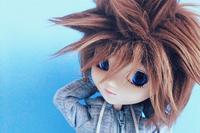 #1 Sora // Pullip Chelsea (Custom to Boy) // Keyblade. ~ ♥