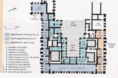 Infos Sur Plan Du Chateau De Versailles Arts Et Voyages