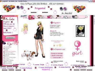 Prigentol : La Star du Profil :)
