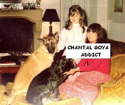 chantal et sa fille clarisse en 1981 chantal goya addict. Black Bedroom Furniture Sets. Home Design Ideas