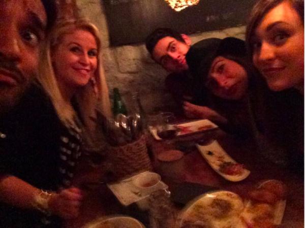 Juliette, Simon et leurs ex-colocataires de Secret (Morgane, Sabrina et Morgan) 3.05