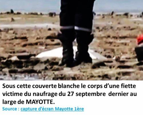 COMORES / Nième naufrage au large de Mayotte : A.A.M. SAMBI présente ses condoléances