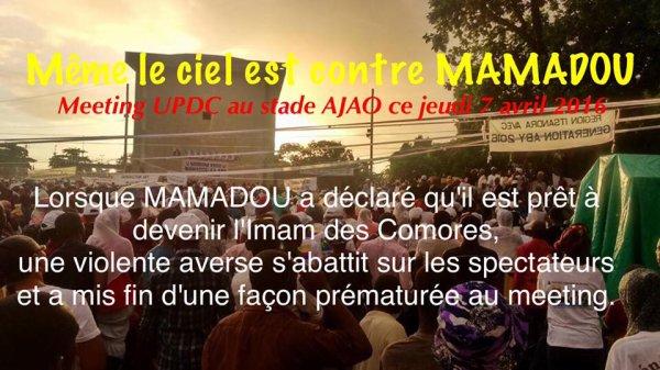 Le ciel est contre Mamadou