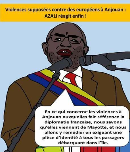 Le président Azali, reste ferme face à la France | Comores Infos