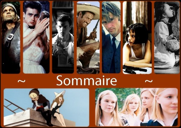 Welcome to Cinemablabla - Sommaire