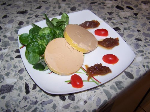 assiette foie gras decoration decoration natural