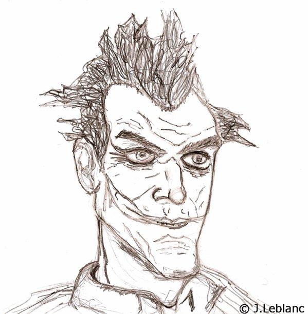 Dessin le joker my book essential - Le joker dessin ...