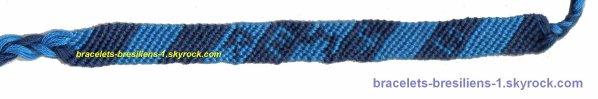 3 eme bracelet: ben celui l� c'est le mien, tu ne le vois pas; y a mon pr�nom dessus!  :-)