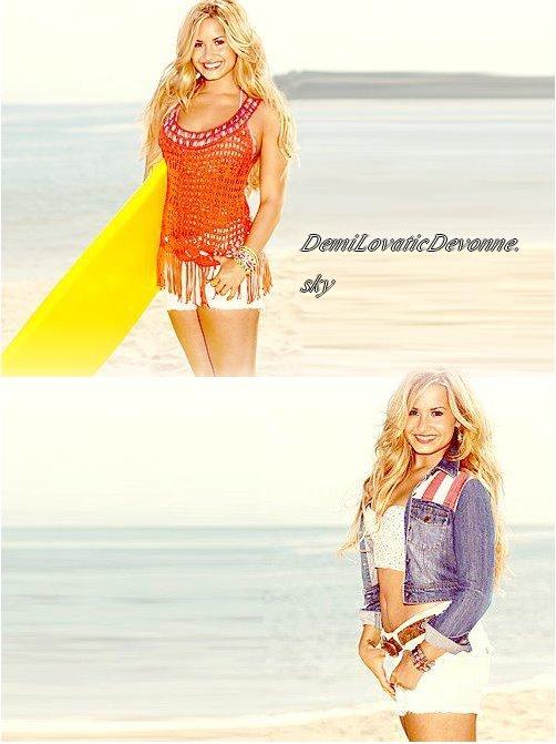 Deux Nouvelle photo de Demi pour Self Le magazine sortira au moisd'Août . Je la trouve magnifique sur ces photos