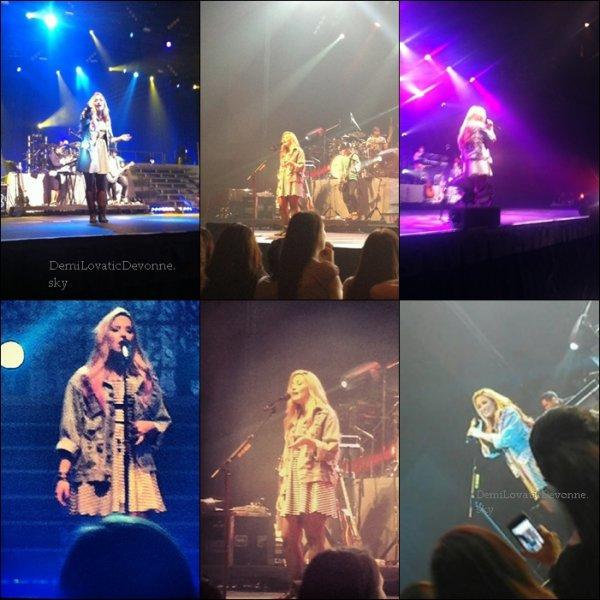 17/06/12  Soundcheck + show San Jose   Demi continue le Summer Tour . Je lui donne un Top & vous TOP/BOF/FLOP ?