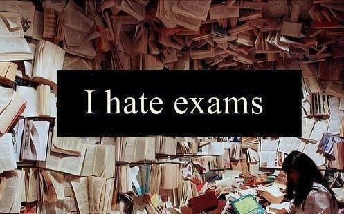 """"""" Les examens, c'est comme l'apnée, le but est d'aller le plus loin sans craquer."""""""